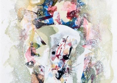 Souvenirs voilés, 47 x 37 cm, 1979, VENDU