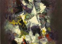 Pénombre, 56 × 48.5 cm, 1965 , SOLD