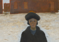 Printemps à Québec-Ouest, 56 x 135.5 cm, 1968, VENDU