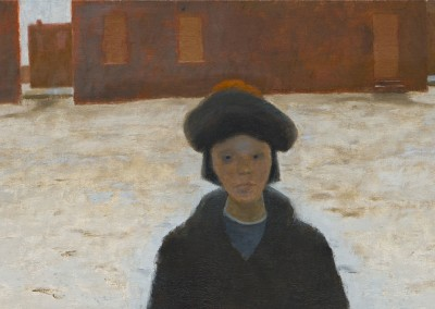 Printemps à Québec-Ouest, 56 x 135.5 cm, 1968, SOLD