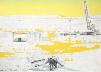 Friche, 60.5 x 76 cm, 2015