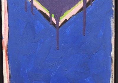 Serge Lemoyne, Petite superposition, 37 x 30 cm, 1982