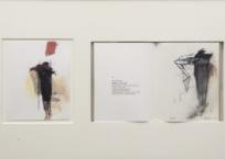 Black words, 20.5 x 17 cm, 1987-88