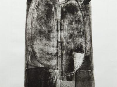 Folded shirt, 64 x 49.5 cm, 1971